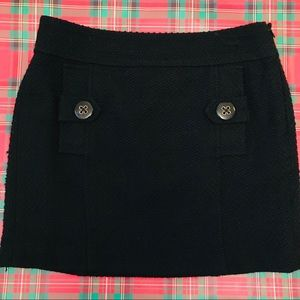 Banana Republic Black Holiday Mini Skirt | Size 4
